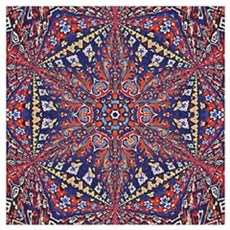 Armenian Carpet Framed Print