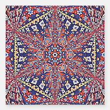 """Armenian Carpet Square Car Magnet 3"""" x 3"""""""