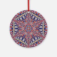 Armenian Carpet Round Ornament