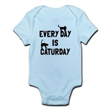 Every day is Caturday Infant Bodysuit