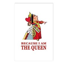 Because I Am the Queen, T Postcards (Package of 8)
