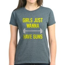 Girls just wanna have guns Tee