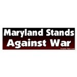 Maryland Antiwar Bumper Sticker