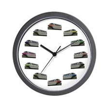 Monorail Wall Clock