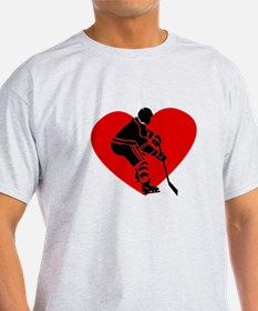 Hockey Heart T-Shirt
