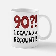 90th Birthday Gag Gift Small Small Mug