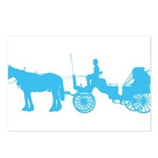 Horse and Buggy Postcards (Package of 8)