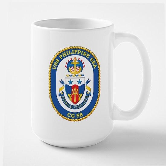 Uss Philippine Sea Cg 58 Mugs