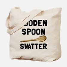 Wooden Spoon Swatter Tote Bag