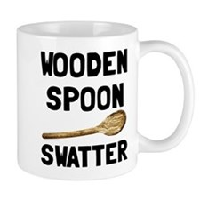 Wooden Spoon Swatter Mug