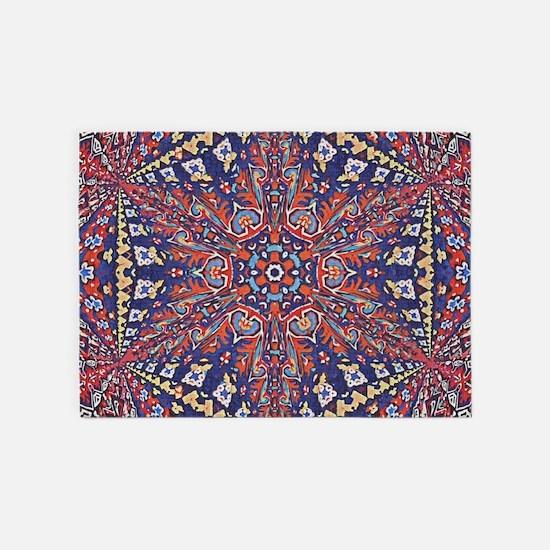 Armenian Carpet 5'x7'Area Rug
