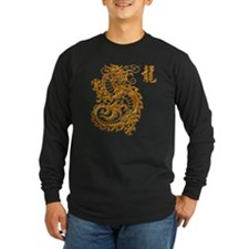 Golden Chinese Dragon T