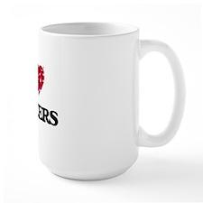 I Love Saucers Mug
