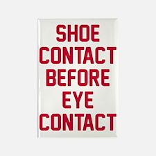 Shoe contact eye contact Rectangle Magnet