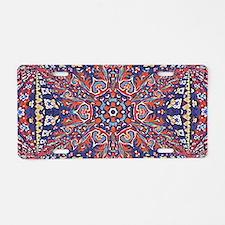 Armenian Carpet Aluminum License Plate
