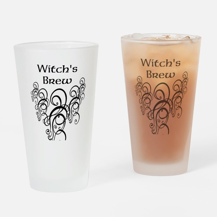 Witch's Brew Drinking Glass