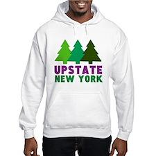 UPSTATE NEW YORK (PINE TREES) Hoodie