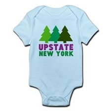 UPSTATE NEW YORK (PINE TREES) Infant Bodysuit