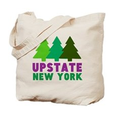 UPSTATE NEW YORK (PINE TREES) Tote Bag