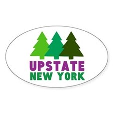 UPSTATE NEW YORK (PINE TREES) Decal