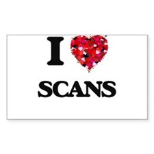 I Love Scans Decal