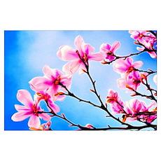 Spring Tree Art Poster