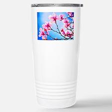 Spring Tree Art Stainless Steel Travel Mug