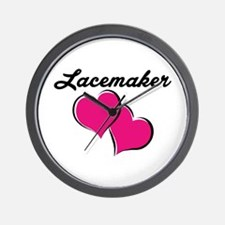 lacemaker Wall Clock