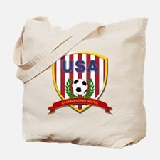 USA Soccer Women 2015 Tote Bag