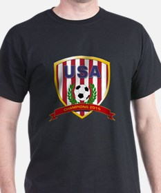 USA Soccer Women 2015 T-Shirt