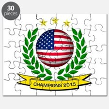 USA Soccer Women 2015 Puzzle