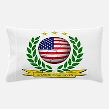 USA Soccer Women 2015 Pillow Case
