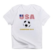 USA Soccer Womens Champions 2015 Infant T-Shirt