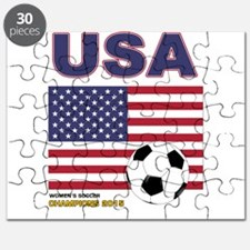 USA Soccer Womens Champions 2015 Puzzle