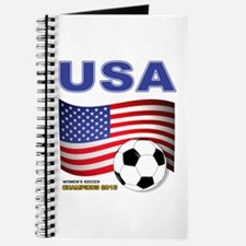 USA Soccer Womens Champions 2015 Journal