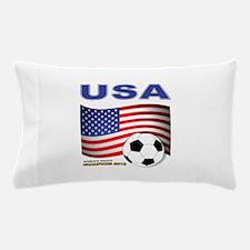 USA Soccer Womens Champions 2015 Pillow Case