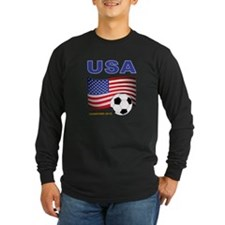USA Soccer Womens Champions 2015 Long Sleeve T-Shi