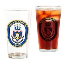 Uss Princeton Cg 59 Drinking Glass