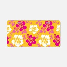 Yellow-magenta-white Hawaiian Hibiscus Aluminum Li