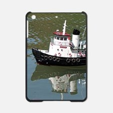Model tugboat reflections in water iPad Mini Case