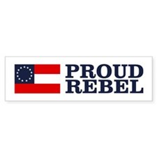 Proud Rebel Bumper Bumper Sticker