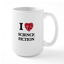 I Love Science Fiction Mugs
