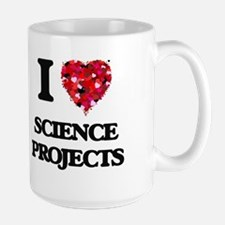 I Love Science Projects Mugs