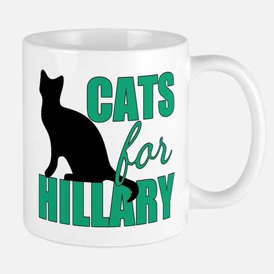 Cats Hillary Clinton Mug