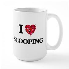 I Love Scooping Mugs