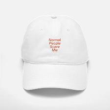 Normal People Scare Me Baseball Baseball Baseball Cap