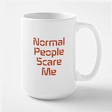 Normal People Scare Me Mugs