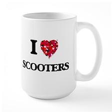 I Love Scooters Mugs