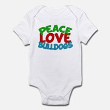 Bull Dogs Infant Bodysuit