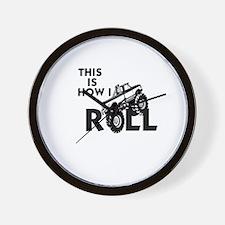 MUD BOG, MUD BOGGING - THIS IS HOWI ROL Wall Clock